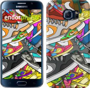 Фото Чехлы для Samsung Galaxy S6 G920 Чехол на Samsung Galaxy S6 G920 World of Nike