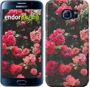 Фото Чехлы для Samsung Galaxy S6 G920 Чехол на Samsung Galaxy S6 G920 Куст с розами