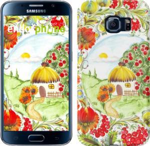 Фото Чехлы для Samsung Galaxy S6 G920 Чехол на Samsung Galaxy S6 G920 Украинская хатка