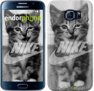 Фото Чехлы для Samsung Galaxy S6 G920 Чехол на Samsung Galaxy S6 G920 Спортивный котик