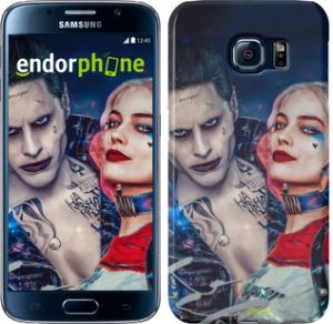 Фото Чехлы для Samsung Galaxy S6 G920 Чехол на Samsung Galaxy S6 G920 Джокер и Харли Квинн