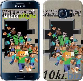 """Чехол на Samsung Galaxy S6 G920 Minecraft 6 """"3330c-80"""" купить в Харькове - Чехлы для телефонов, mp3 плееров"""