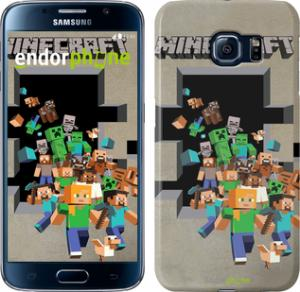 Фото Чехлы для Samsung Galaxy S6 G920 Чехол на Samsung Galaxy S6 G920 Minecraft 6