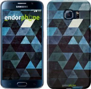 Фото Чехлы для Samsung Galaxy S6 G920 Чехол на Samsung Galaxy S6 G920 Треугольники