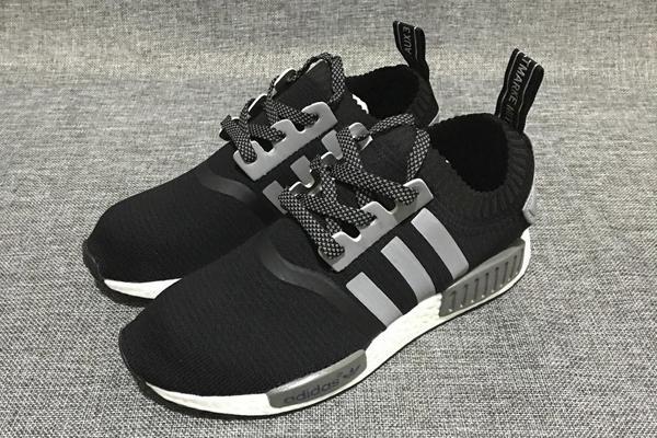 Мужские кроссовки ADIDAS NMD ORIGINALS BLACK-GREY