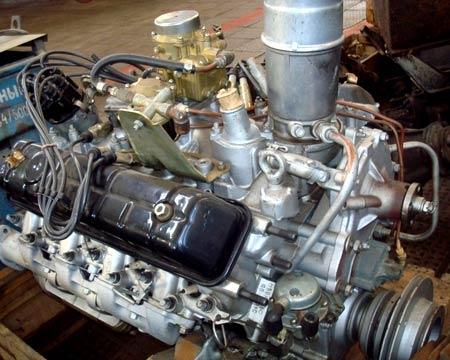 Ремонт двигателя  ГАЗ-53
