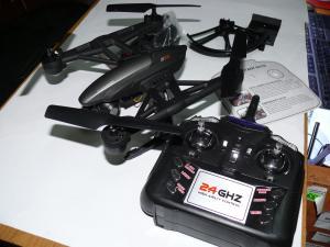 Фото Квадрокоптеры Квадрокоптер JD509W с камерой WiFi, автовозвратом и удержанием высоты, 38х38см.