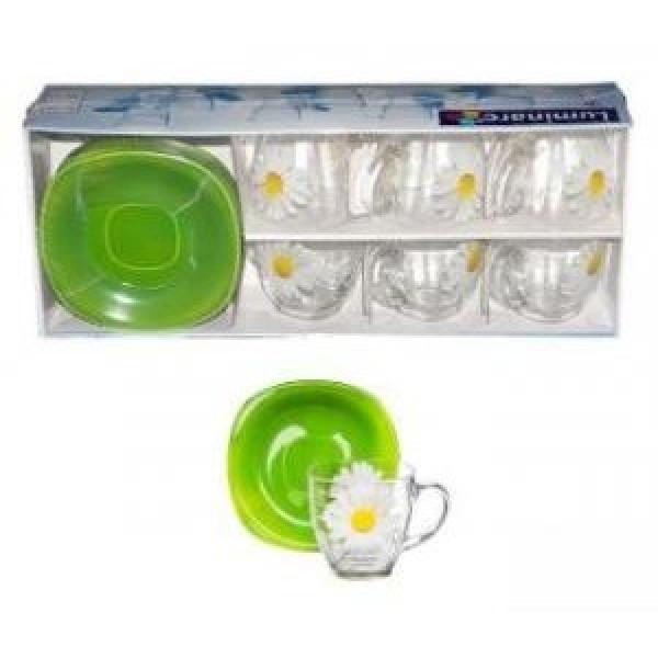 Paquerette Green Набор чайный 220 мл 12пр Luminarc