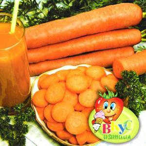 Фото   Морковь сахарная Лакомка, семена