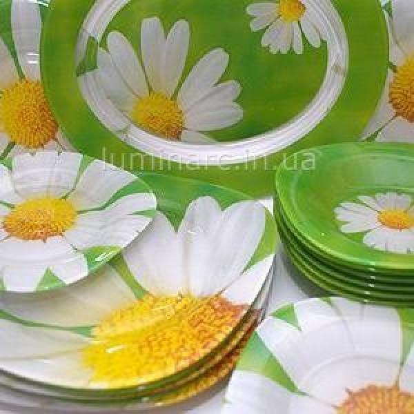 Paguerette Green Сервиз столовый Luminarc