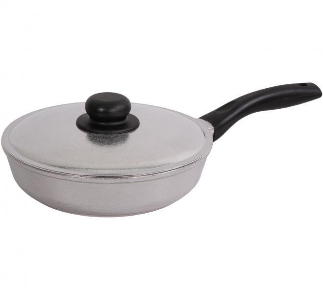 Сковорода алюминиевая Биол 2807БК
