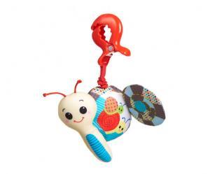 Фото       Для малышей, Игрушки для малышей , Погремушки и игрушки  Дрожащая погремушка Tiny Love «Улитка»