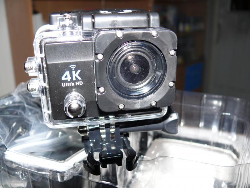 Экшен камера Q6 4K, с WiFi.