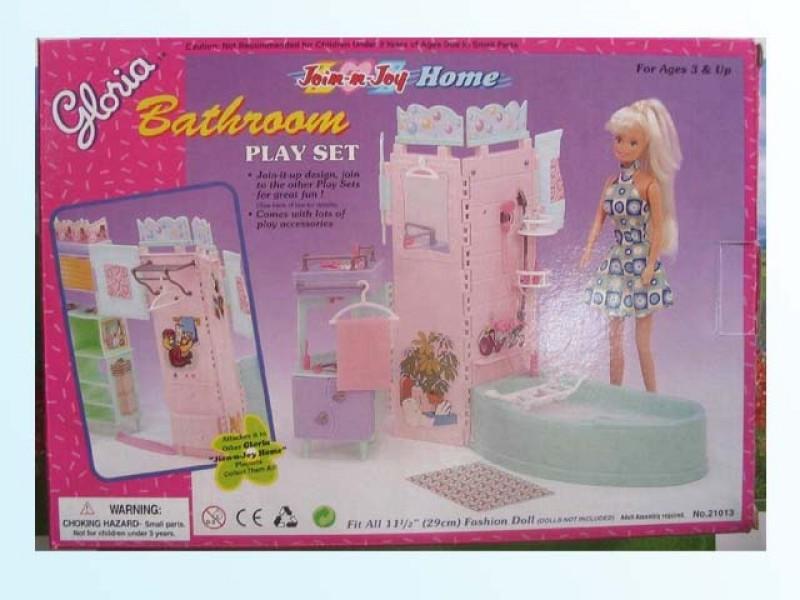 Мебель для ванной кукольная, Глория