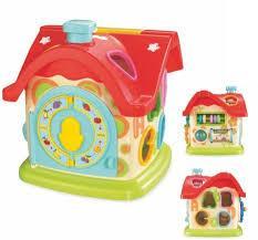 Сортер игрушка Baby Mix Домик