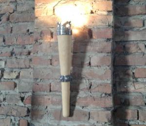 Фото  Бра в виде факела