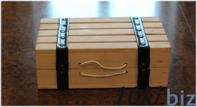 Подарочный ящик на 2 Ящики деревянные в России