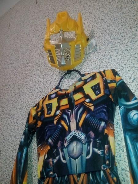 Карнавальный костюм трансформер+маска БУ