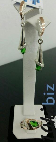 комплект 050 Комплекты украшений из серебра в Украине