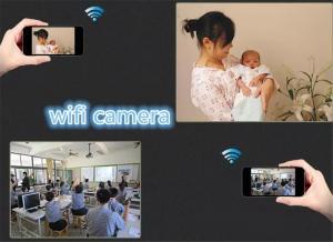 Фото Видеонаблюдение WIFI MD81 CMOS P2P Wi-Fi Мини видеокамера наблюдения IP-камера Веб-Камера
