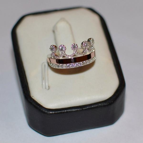 кольцо Корона 016