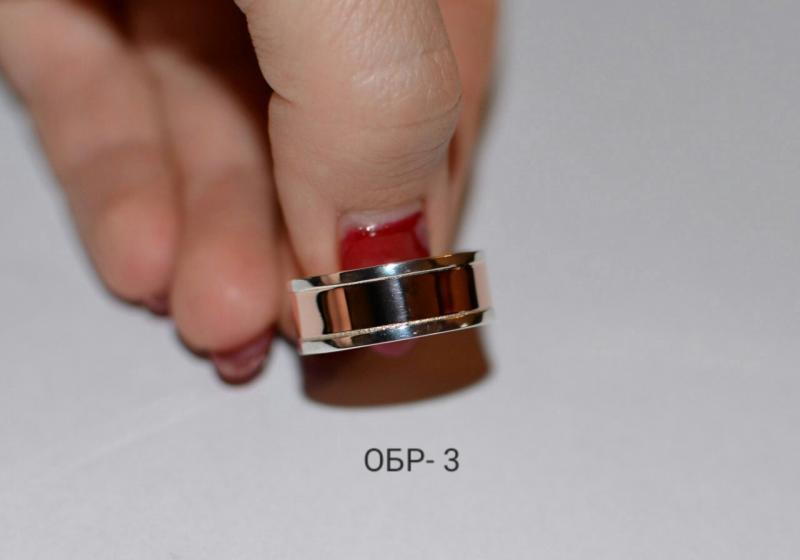 Обручальное кольцо 3