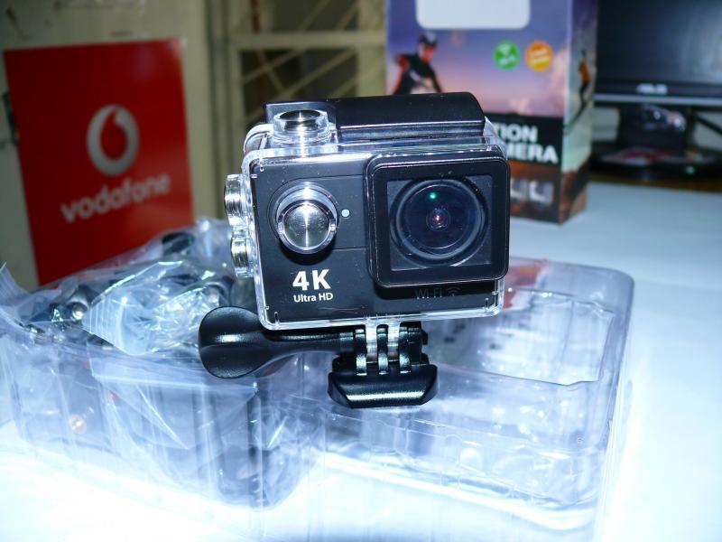 Экшен камера H9 4K, WiFi