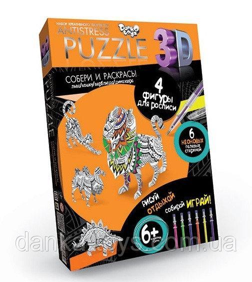 "Пазлы ""Antistress Puzzle"" 3D Животные AP-01-10 Danko Toys"