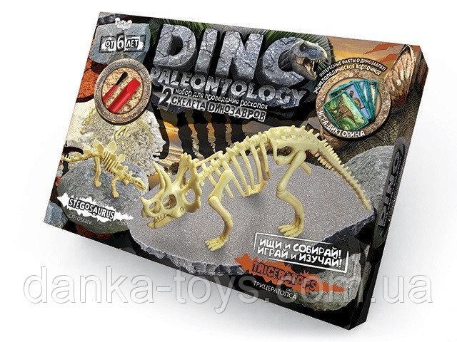 Раскопки динозавра «DINO PALEONTOLOGY» Danko Toys DP-01-02