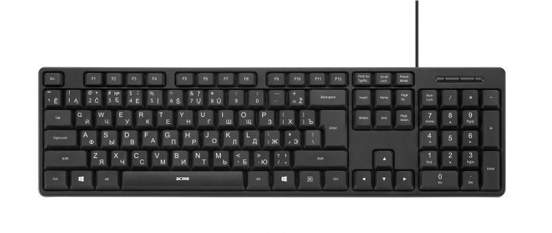 Клавиатура компьютерная KS06 USB