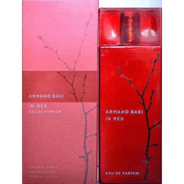 Парфюмированная вода ARMAND BASI «In Red Eau de Parfum»  (АРМАНД  БАСИ  «Ин Ред О Де Парфюм»)