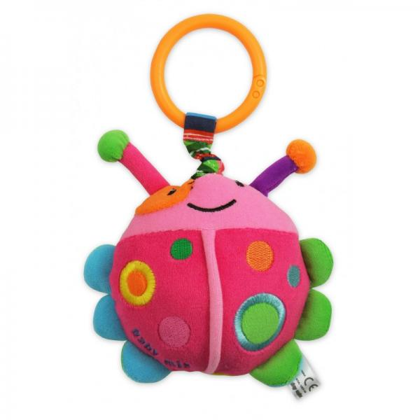 Плюшевая игрушка Baby Mix Божья коровка