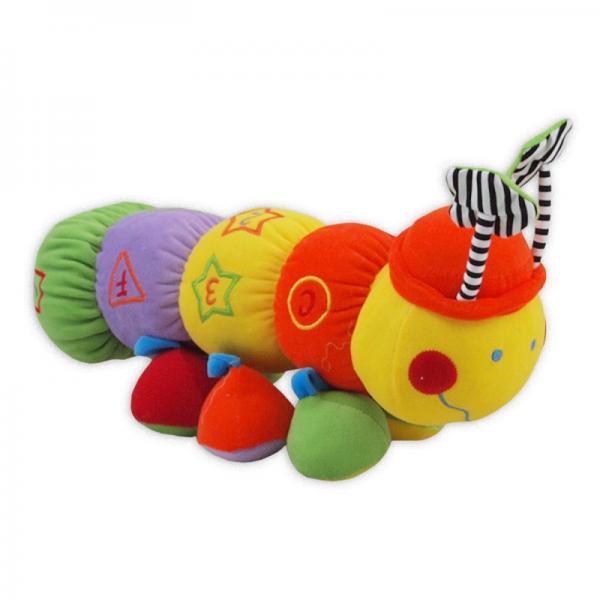 Плюшевая игрушка Baby Mix  Гусеница