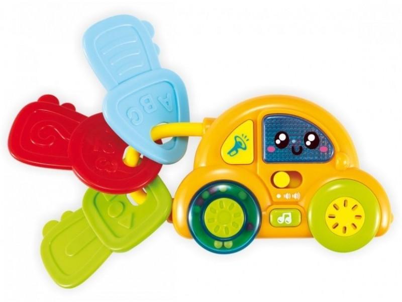 BABY MIX Машинка с ключами муз.