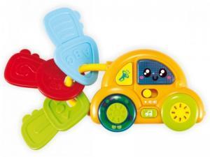 Фото Развивающие , Музыкальные игрушки BABY MIX Машинка с ключами муз.