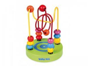 Фото Деревянные игрушки  BABY MIX Деревянная спираль логика в коробке