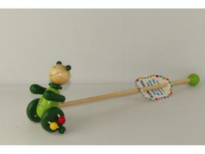 Фото Деревянные игрушки  BABY MIX Каталка деревянная