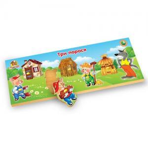 Фото Деревянные игрушки  Деревянные рамки-вкладыши сказка