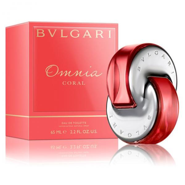 Женская парфюмерная вода  BVLGARI  «Omnia Coral»  (БУЛГАРИ  «Омния Коралл»)