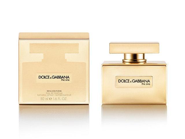 Женская туалетная вода  DOLCE & GABBANA  «The One»  Gold (ДОЛЬЧЕ и ГАББАНА  «Зе Ван» Голд)  D&G