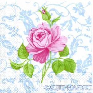 Фото Салфетки для декупажа, Цветы Салфетка Роза СД-044