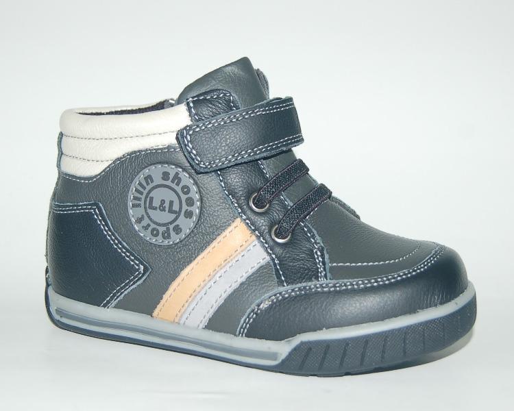 Ботинки для мальчика Lilin черный 25,27