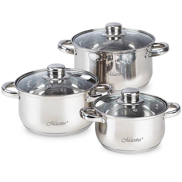 Набор посуды Маэстро MR 2020-6M