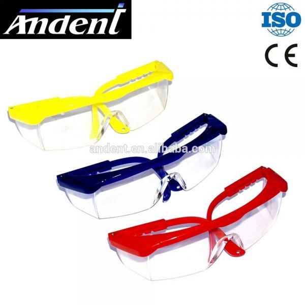 Очки защитные прозрачные с регулируемыми дужками