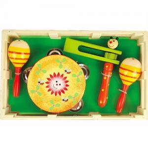 Фото Деревянные игрушки , Музыкальные инструменты  Набор музыкальных инструментов
