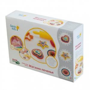 Фото Творчество  Набор для детской лепки Genio Kids Магазин печенья