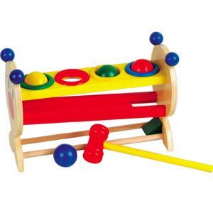 Фото Деревянные игрушки  Стучалка с шариками малая, деревянная