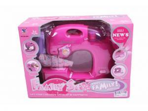 Фото Ролевые игры, профессии, Игрушечная техника  Детская швейная машинка розовая