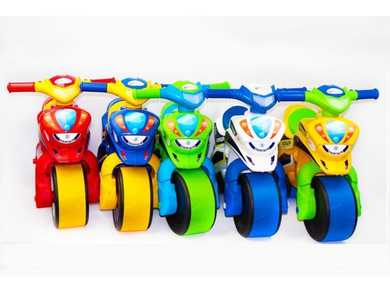 "Каталка-толокар, детский мотоцикл ""Полиция"""