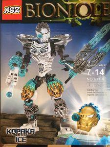 Детский конструктор Bionicle 611-4 Копака объединитель льда, 131 дет.